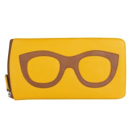 Leather Handbags and Accessories 6462 Yellowstone - Leather Eyeglass Case