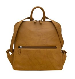 Leather Handbags and Accessories 6503 Antique Saddle - Small Backpack