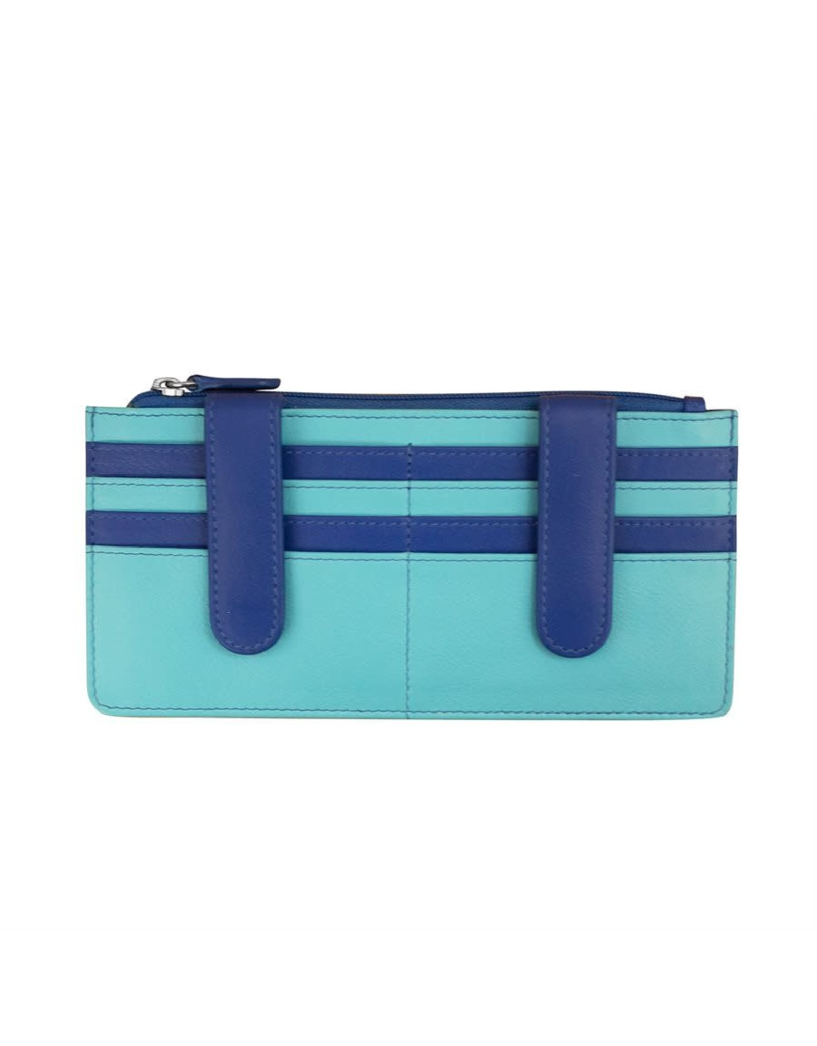 Leather Handbags and Accessories 7306 Mykonos - RFID Credit Card Wallet