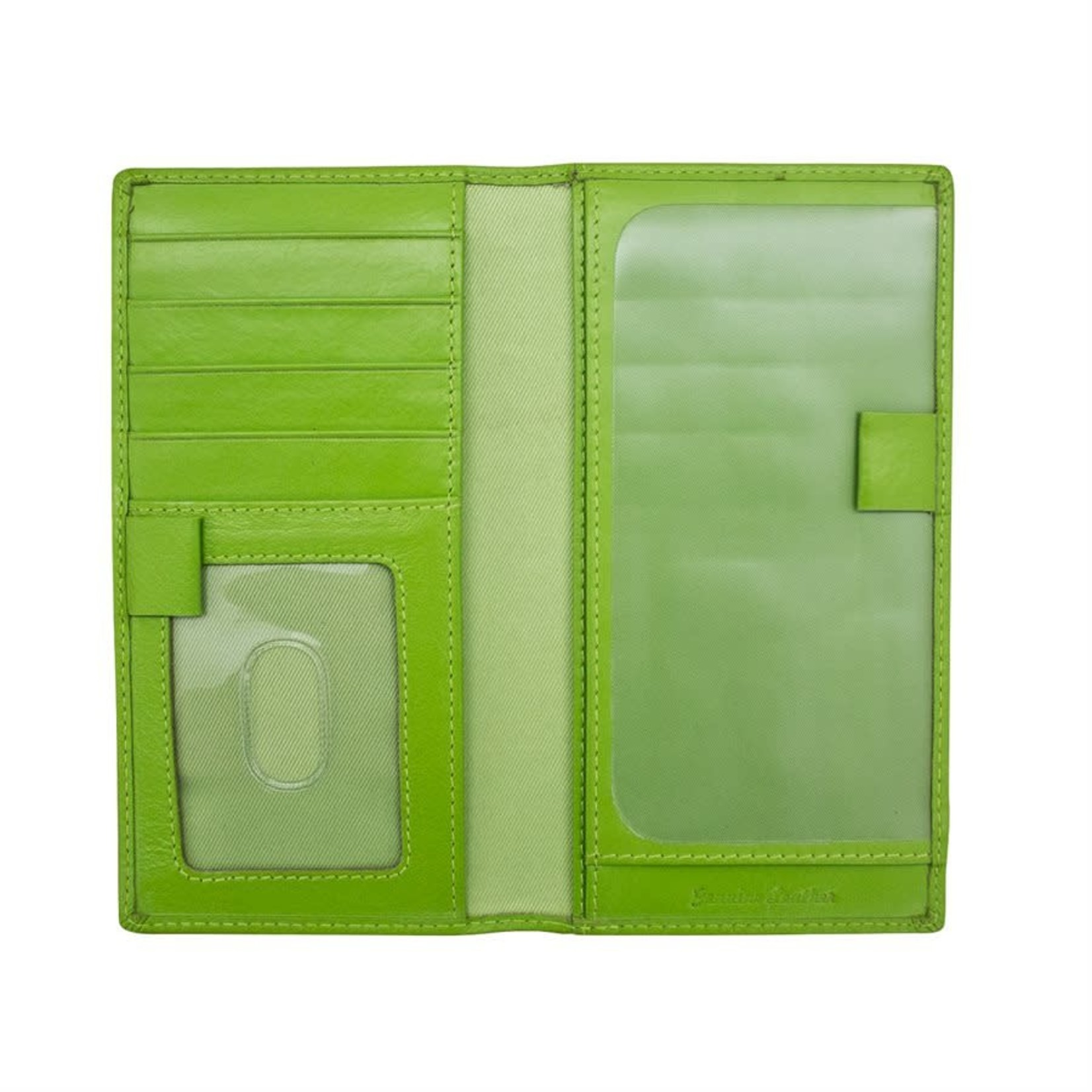 Leather Handbags and Accessories 7406 Leaf - RFID Checkbook Cover