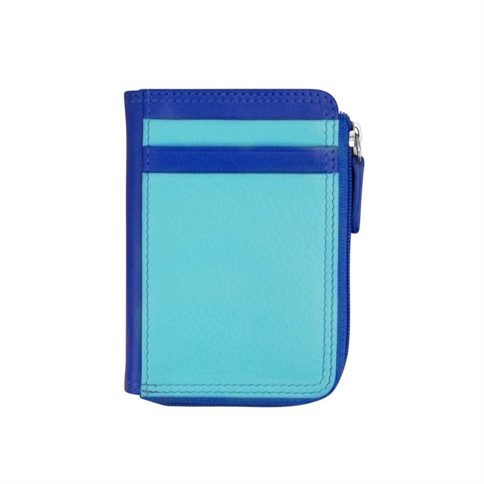 Leather Handbags and Accessories 7411 Mykonos - RFID CC ID Holder