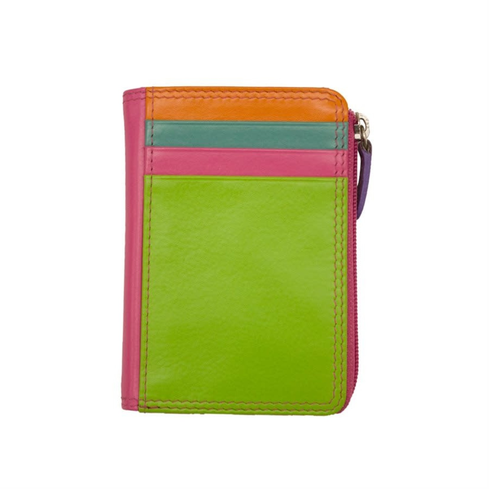 Leather Handbags and Accessories 7411 Palm Beach - RFID CC ID Holder