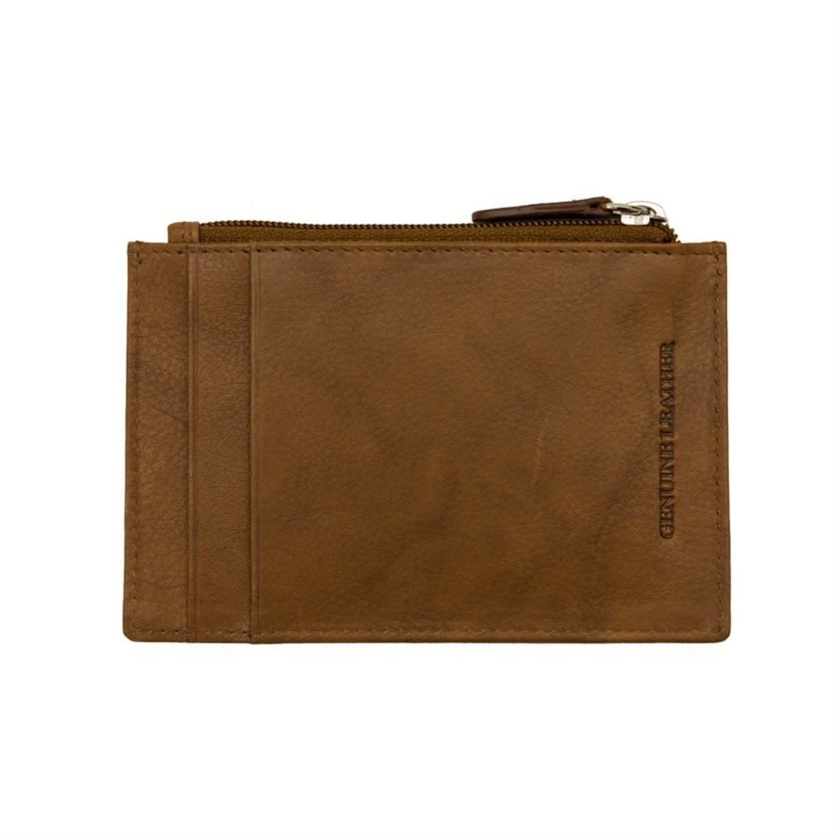 Leather Handbags and Accessories 7416 Antique Saddle - RFID Card Holder