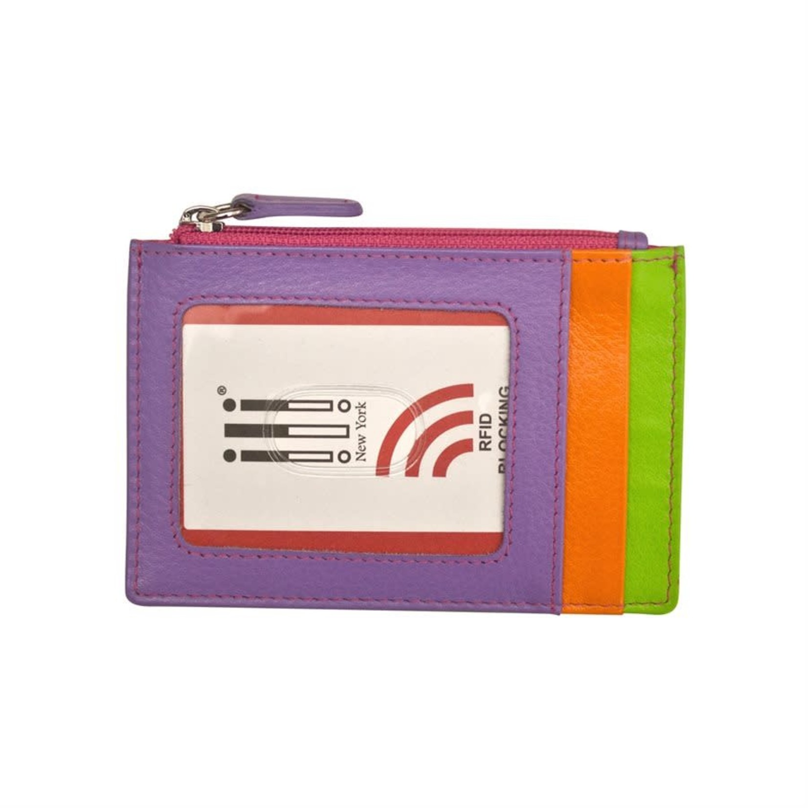 Leather Handbags and Accessories 7416 Palm Beach - RFID Card Holder