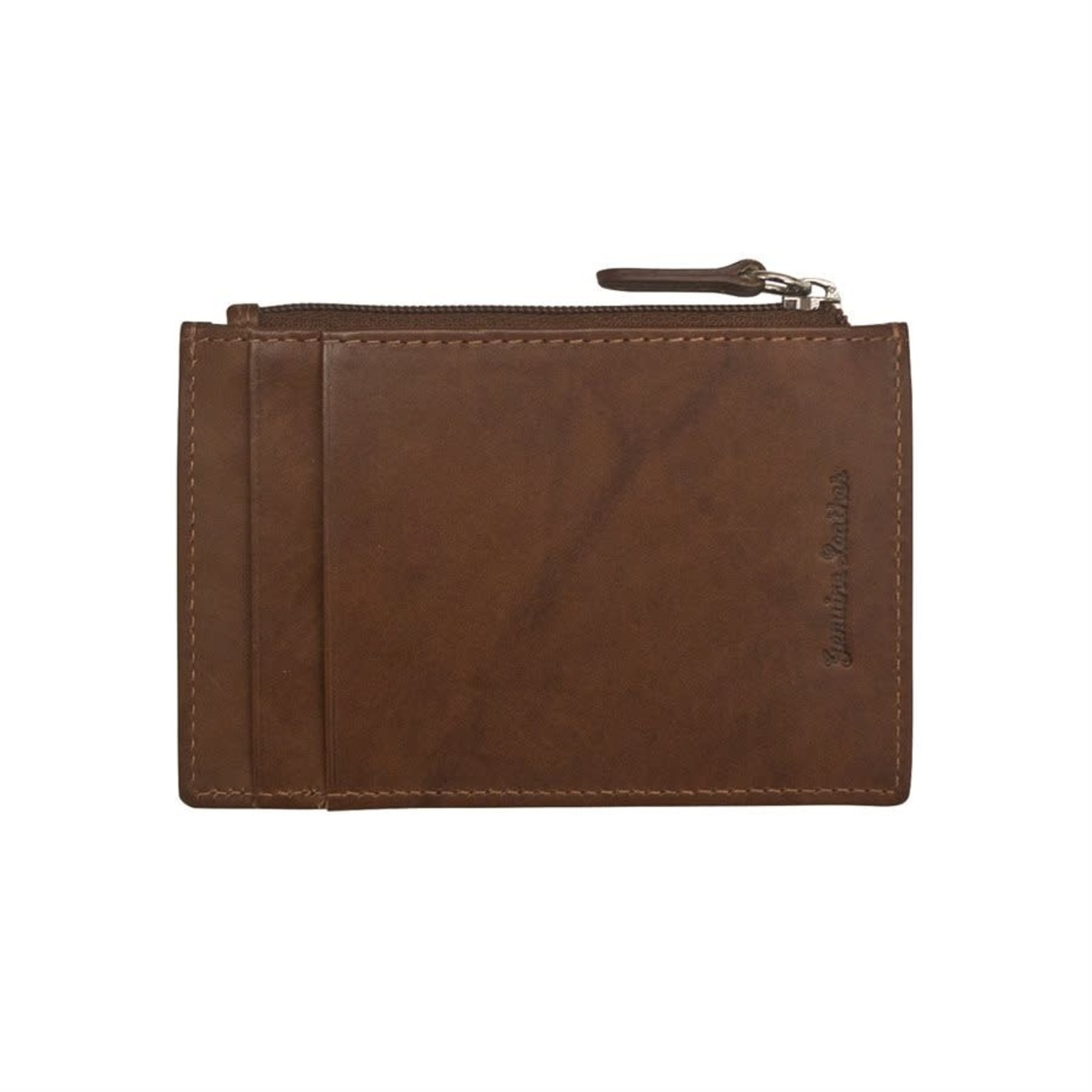 Leather Handbags and Accessories 7416 Toffee - RFID Card Holder