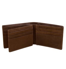 Leather Handbags and Accessories 7746 Mens Wallet - Toffee