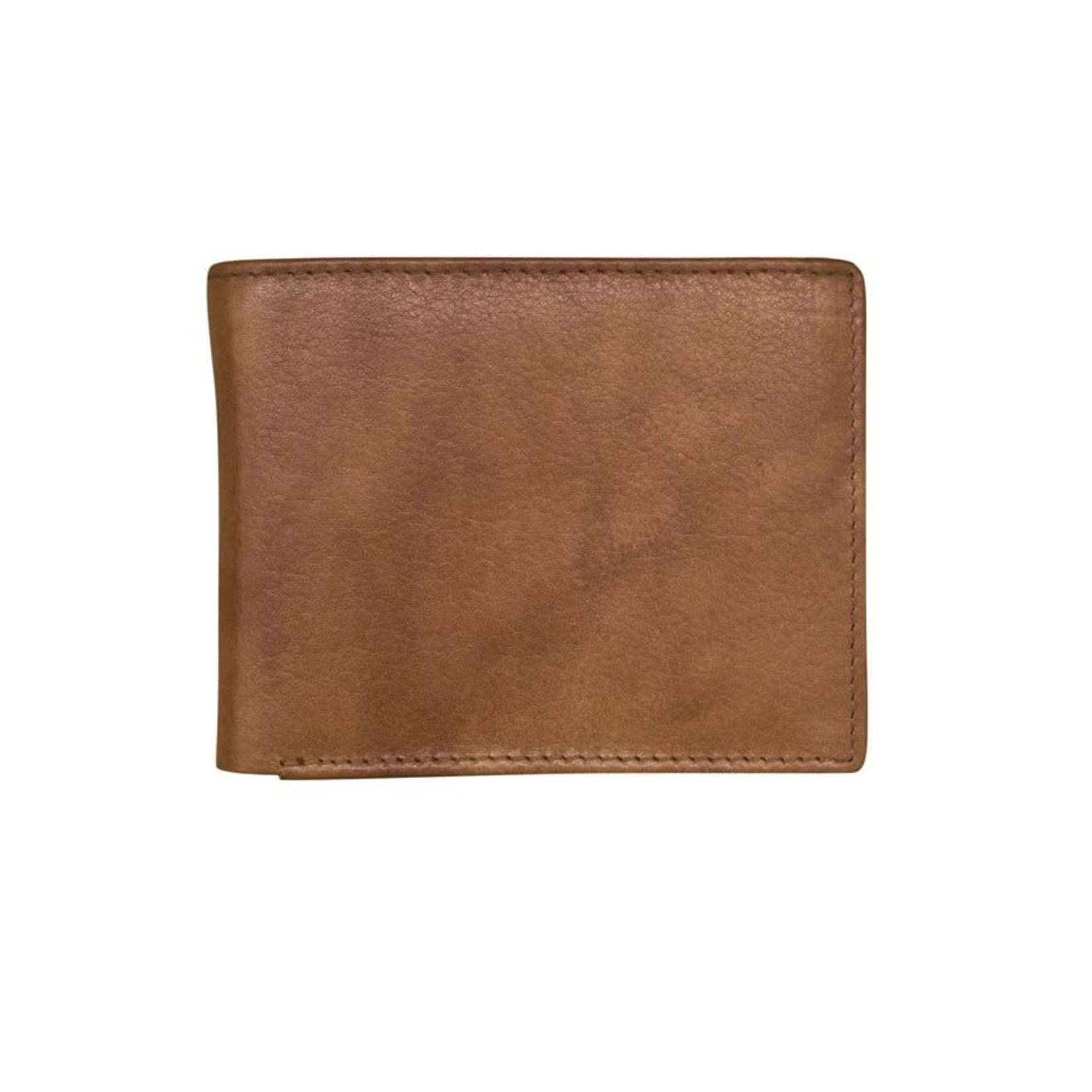 Leather Handbags and Accessories 7751 Antique Saddle - RFID BiFold Wallet