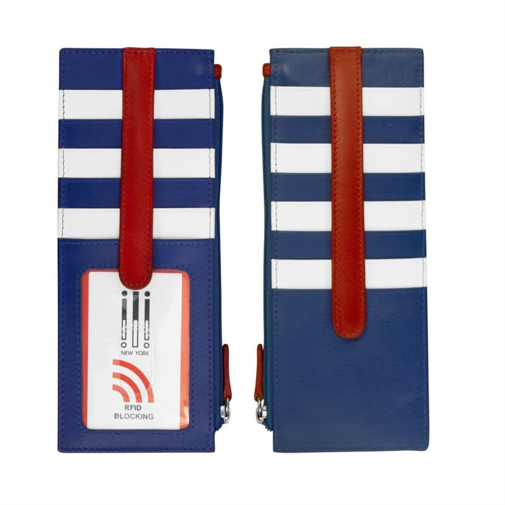 Leather Handbags and Accessories 7800 Nautical - RFID Card Holder