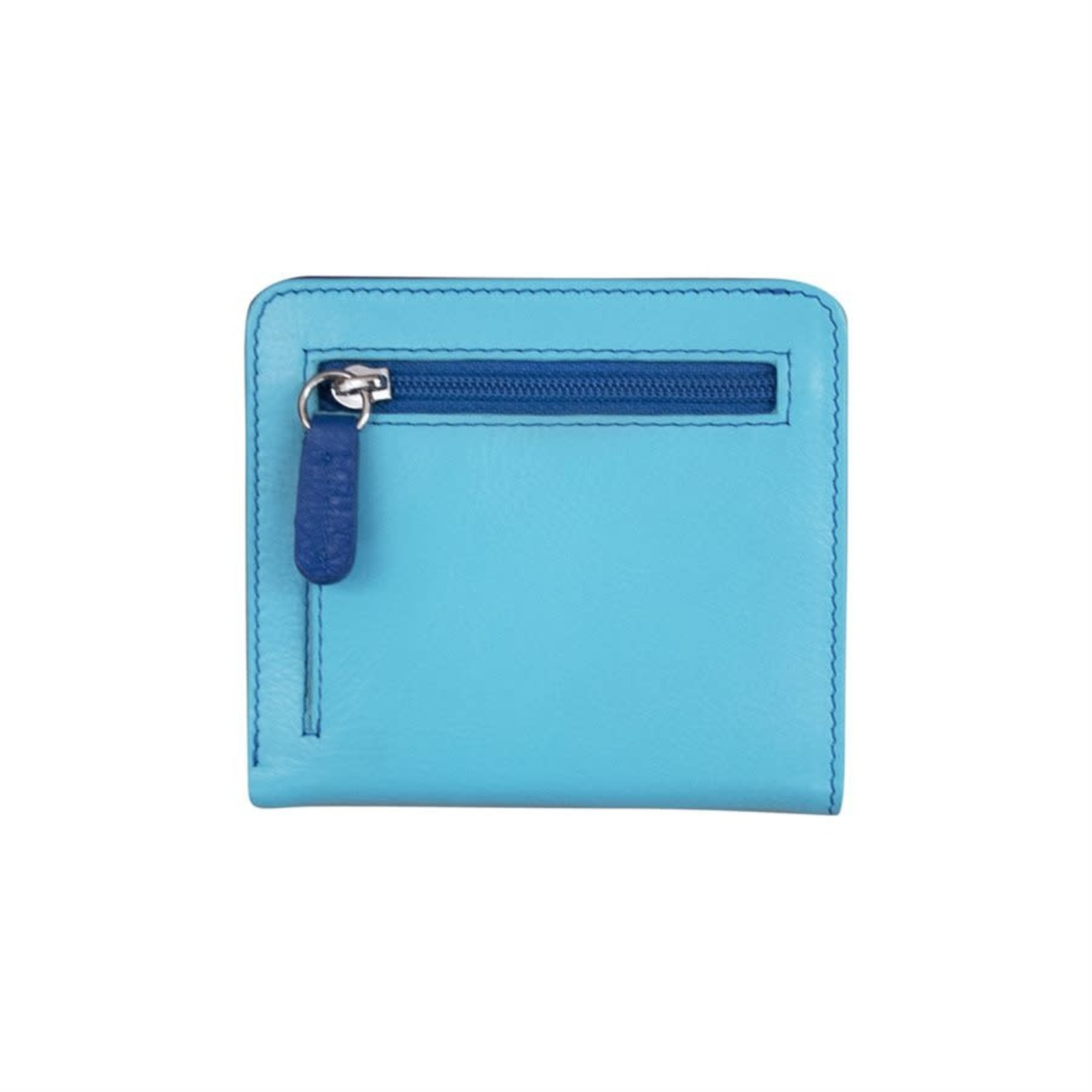 Leather Handbags and Accessories 7831 Mykonos - RFID Mini Wallet Two Toned
