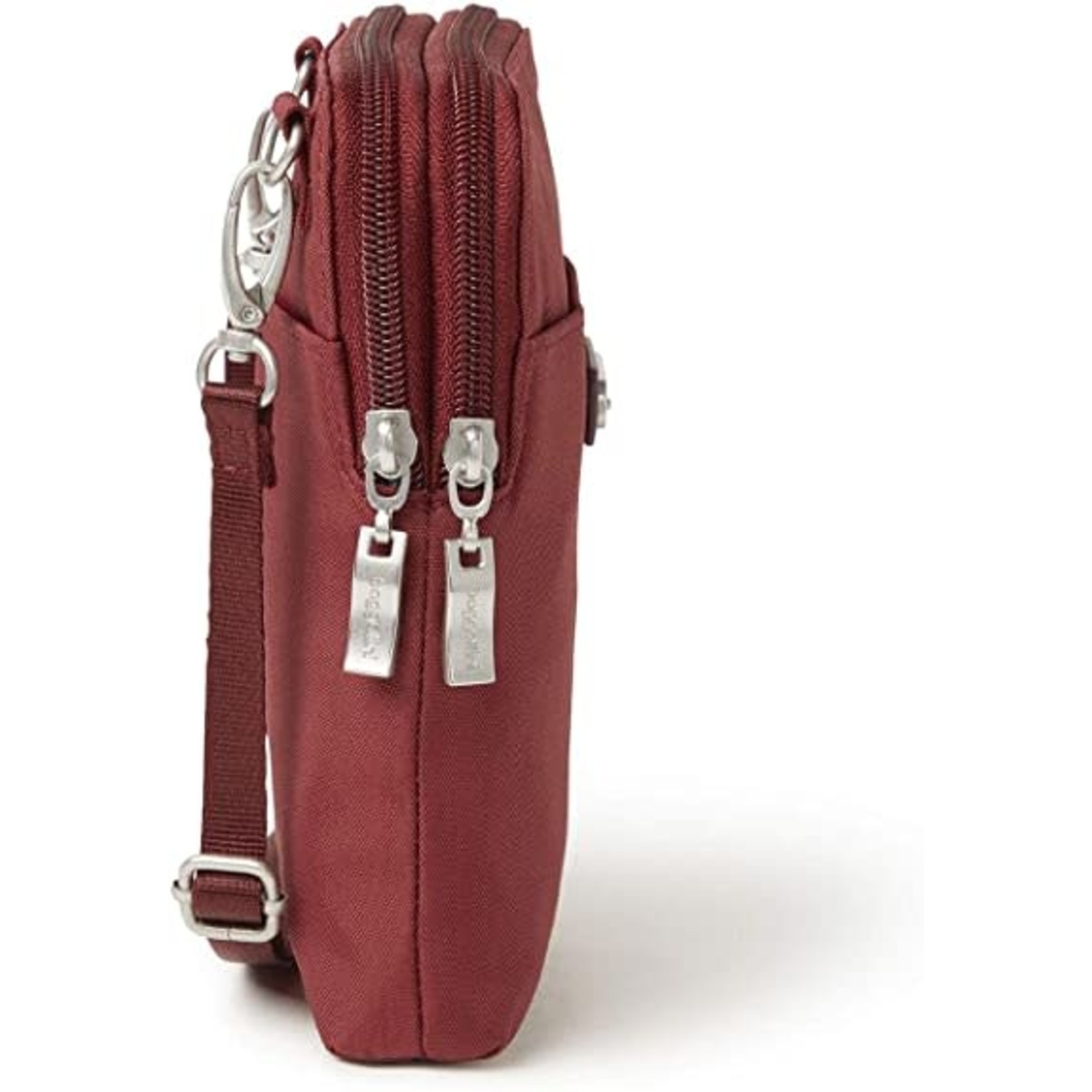 Baggallini Take Two RFID Bryant Crossbody - Russet Red