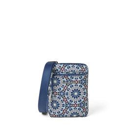 Baggallini Anti-Theft Activity Crossbody Bag - Moroccan Tile Print