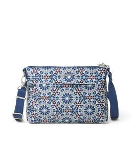 Baggallini Anti-Theft Memento Crossbody Bag - Moroccan Tile Print