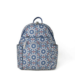 Baggallini Anti-Theft Vacation Backpack - Moroccan Tile Print