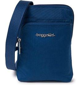 Baggallini Anti-Theft Activity Crossbody Bag - Pacific