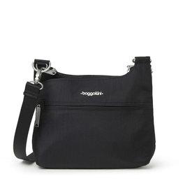 Baggallini Anti-Theft Charter Crossbody Bag - Black