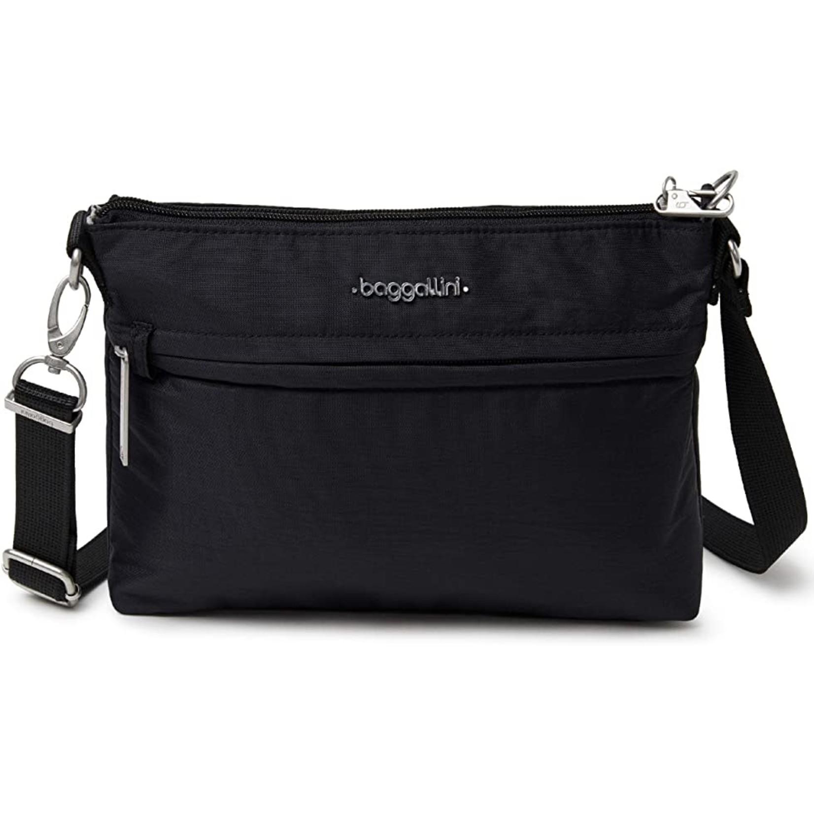Baggallini Anti-Theft Memento Crossbody Bag - Black