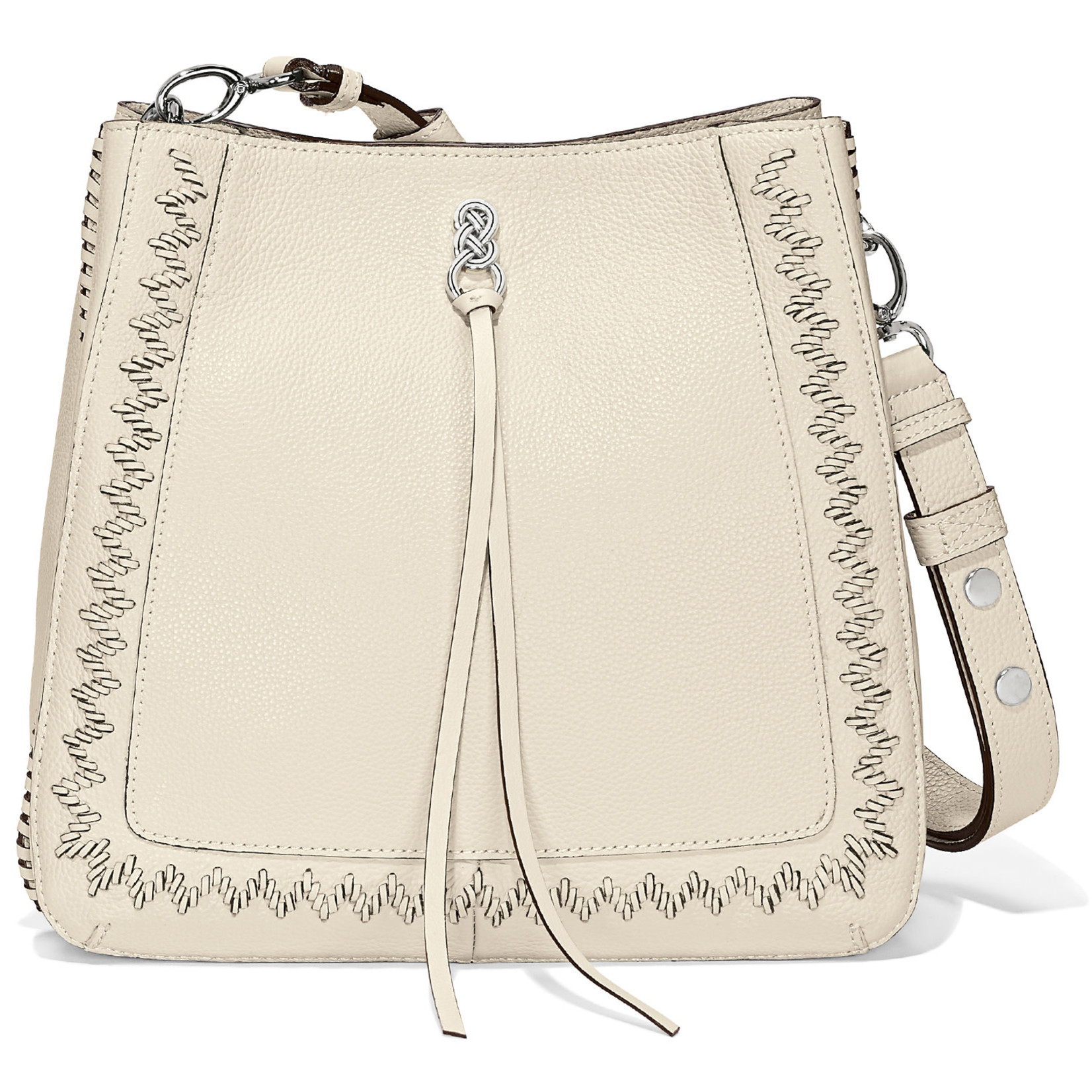Brighton H36522 Georgia Convertible Hobo - White