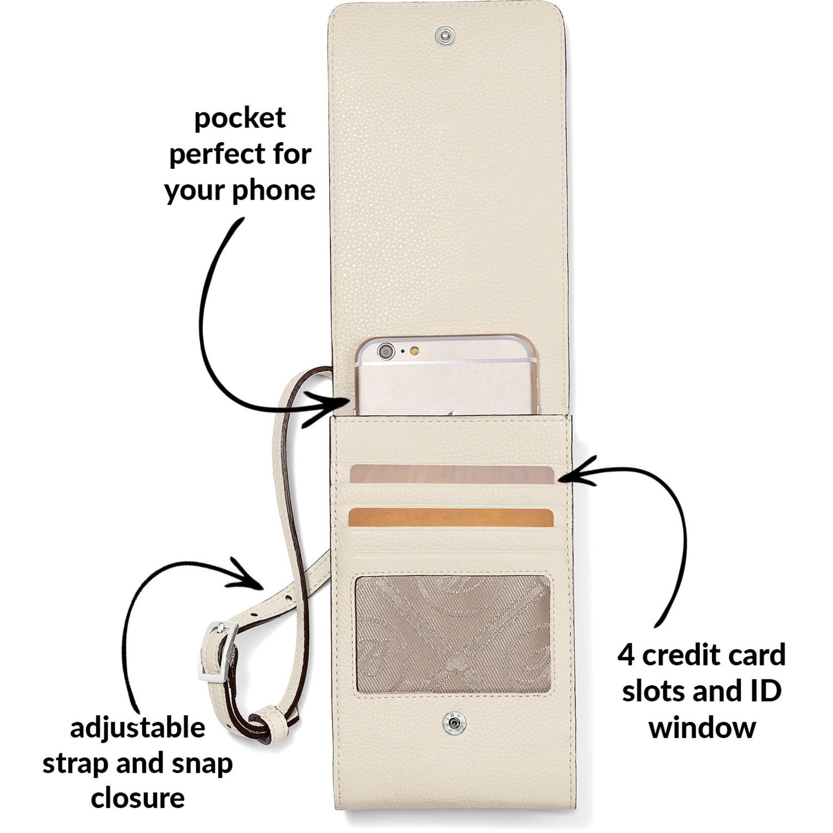 Brighton E53762 Interlok Phone Organizer - White