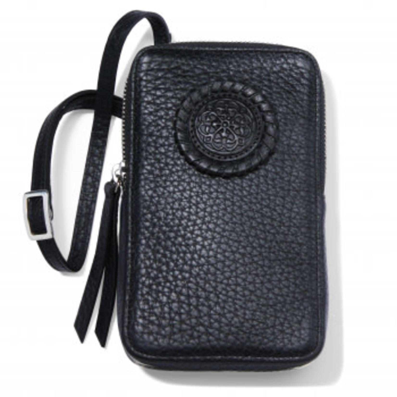 Brighton E53843 Ferrara Zip Around Phone Organizer - Black