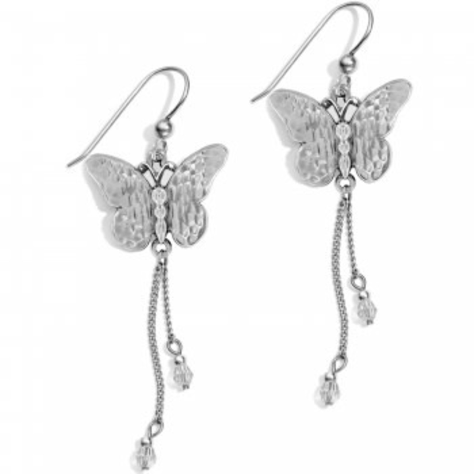 Brighton JA4711 Solstice Butterfly Dangle French Wire Earrings