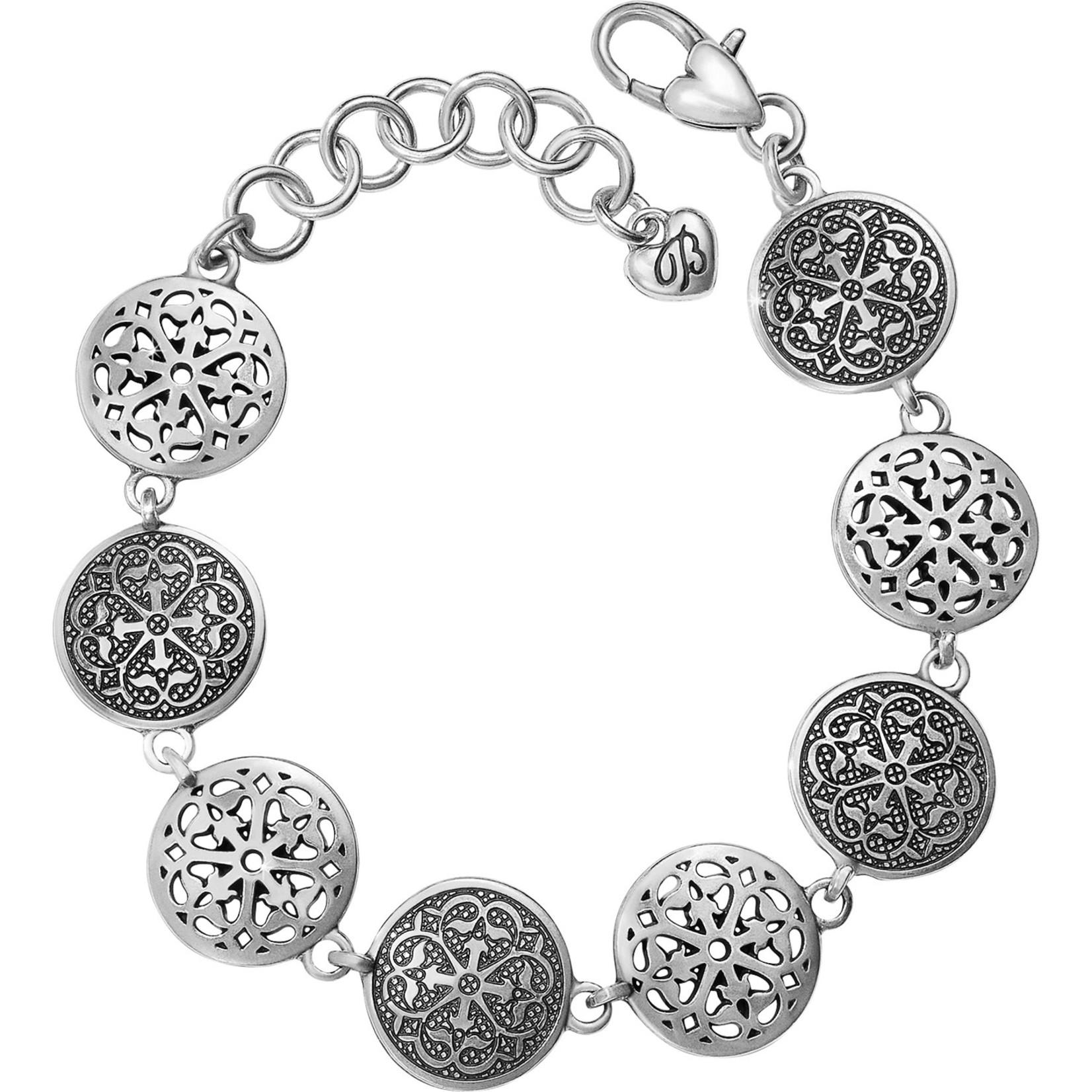 Brighton JF3760 Ferrara Medallion Link Bracelet