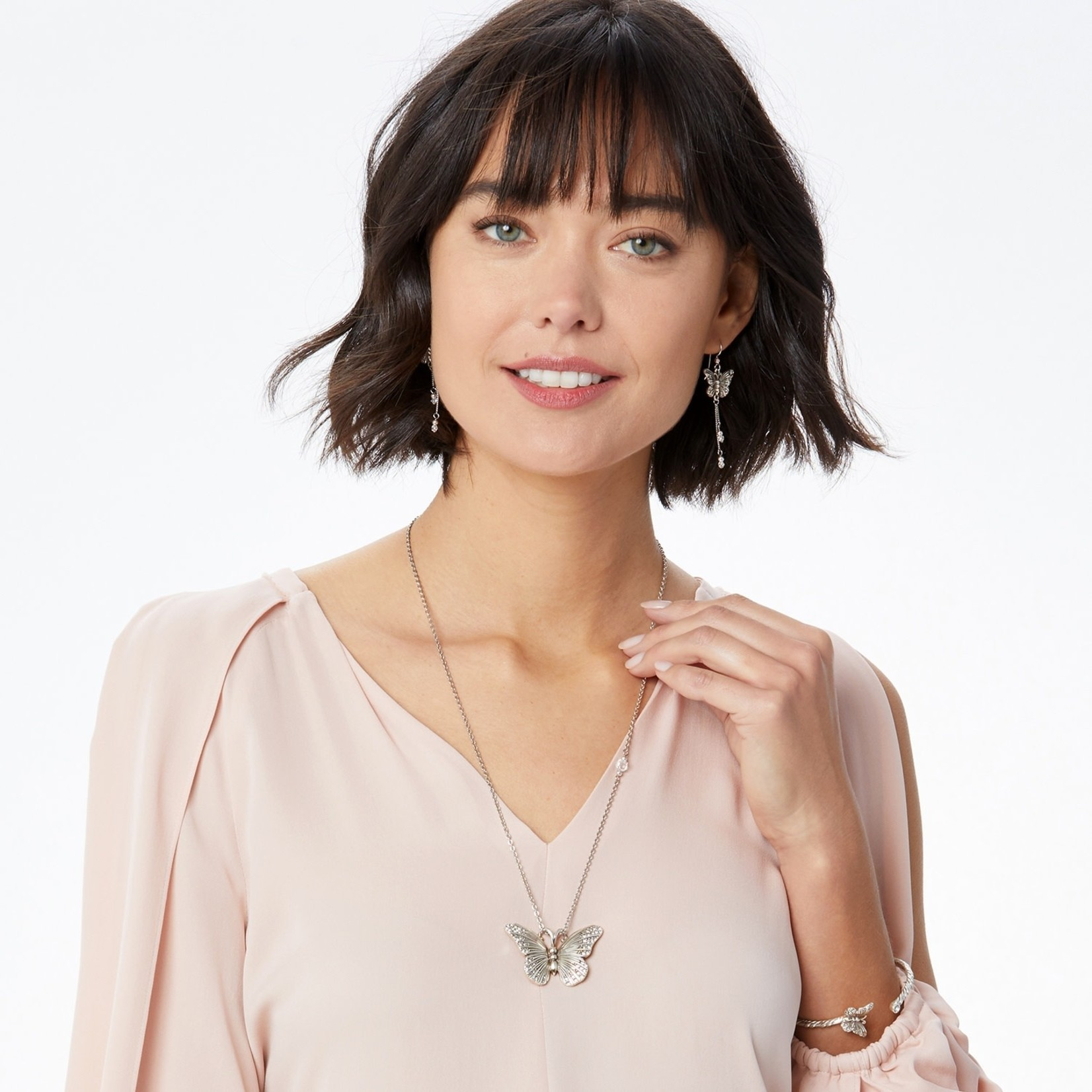Brighton JL9611 Solstice Butterfly Large Necklace