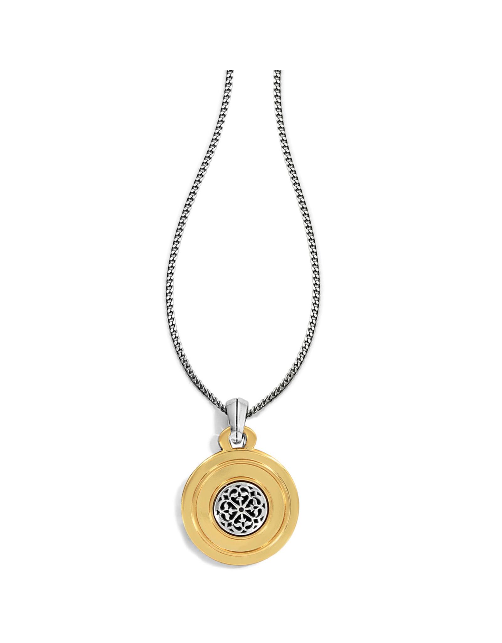 Brighton JM1062 Ferrara Two Tone Reversible Long Necklace
