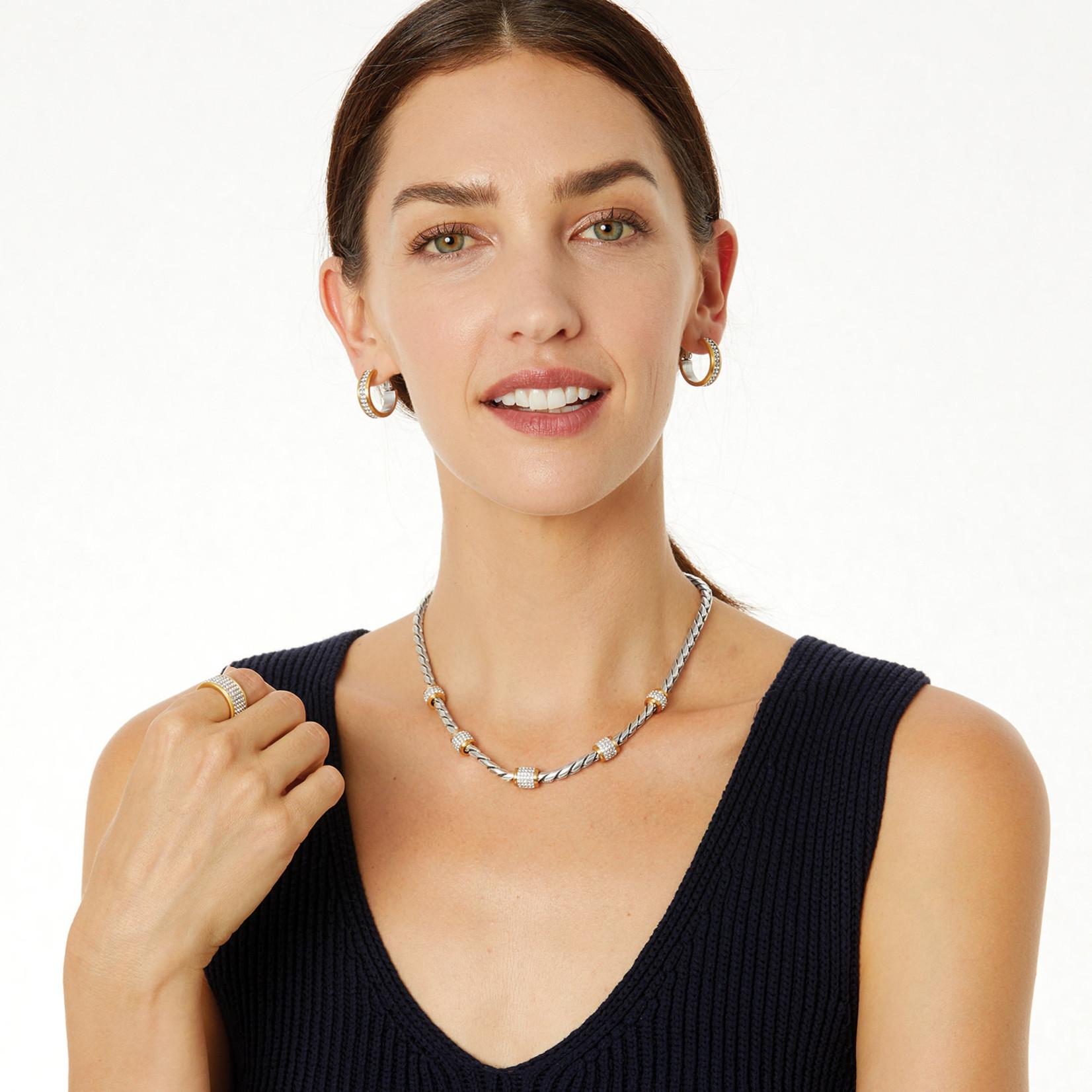 Brighton JN3480 Meridian Necklace - Silver/Gold