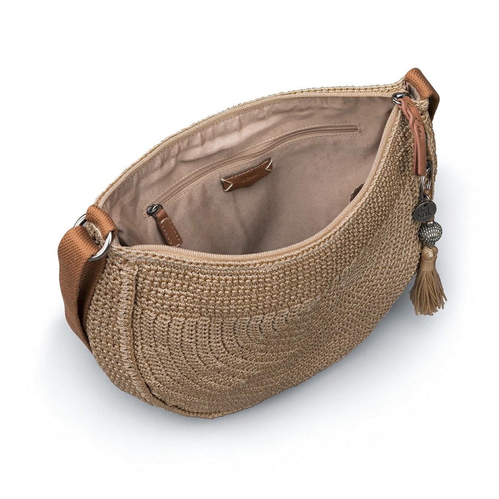 The Sak Ryder Crochet Crossbody - Bamboo