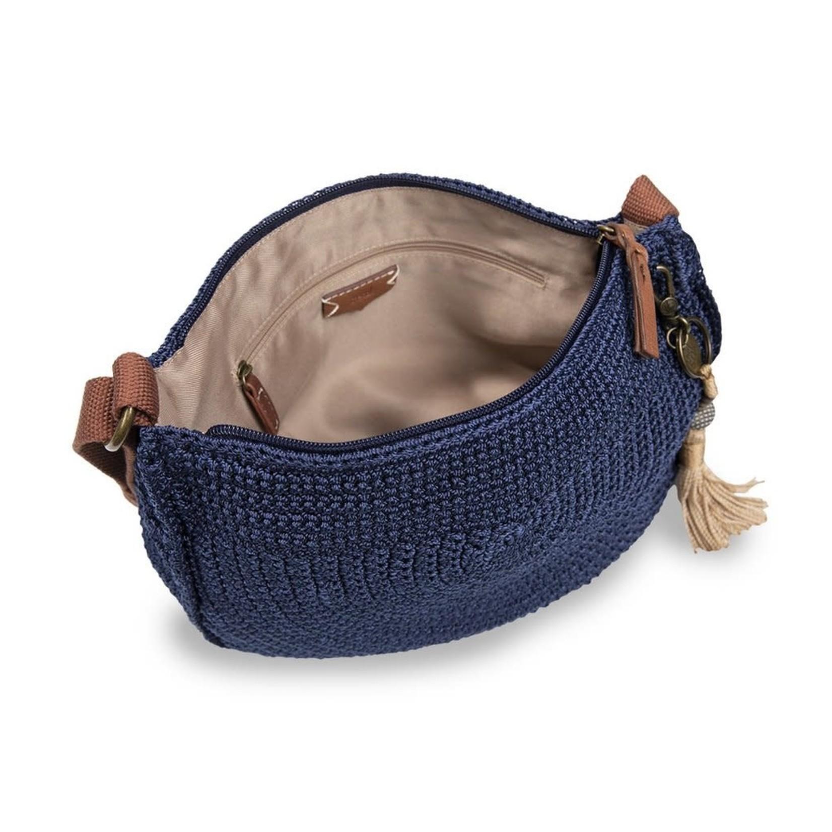 The Sak Ryder Crochet Crossbody - Denim