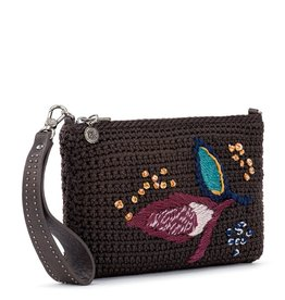 The Sak Solana Convertible Crossbody - Coffee Leaf Embroidery