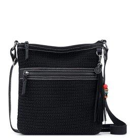 The Sak Lucia Crochet Crossbody - Black