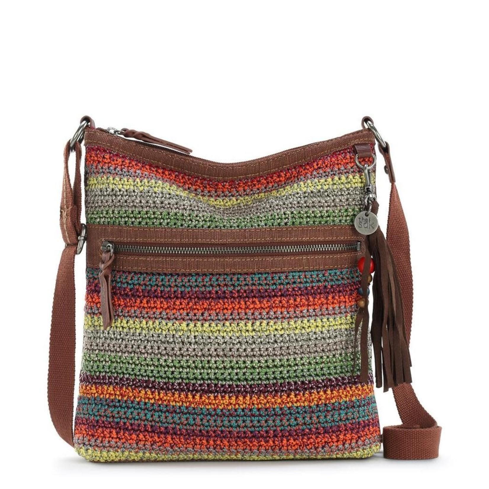 The Sak Lucia Crochet Crossbody - Sunset Stripe