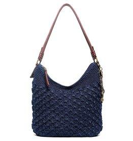 The Sak Sequoia Crochet Hobo - Denim Malia Weave