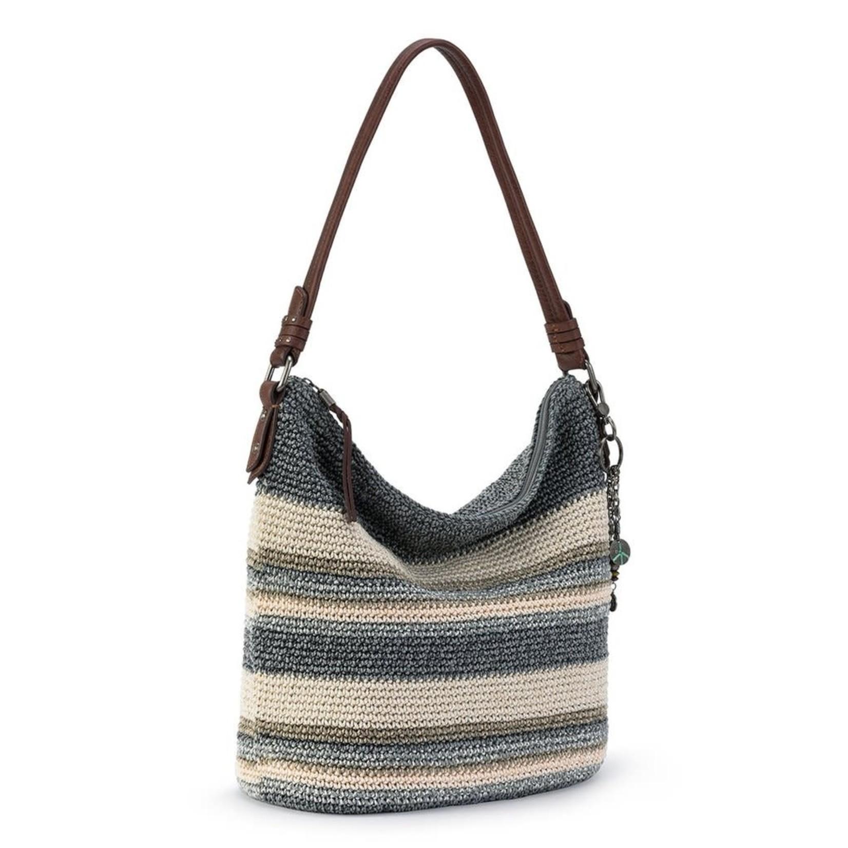 The Sak Sequoia Crochet Hobo - Desert Stripe