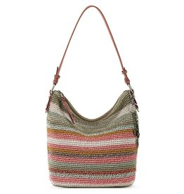 The Sak Sequoia Crochet Hobo - Horizon Stripe