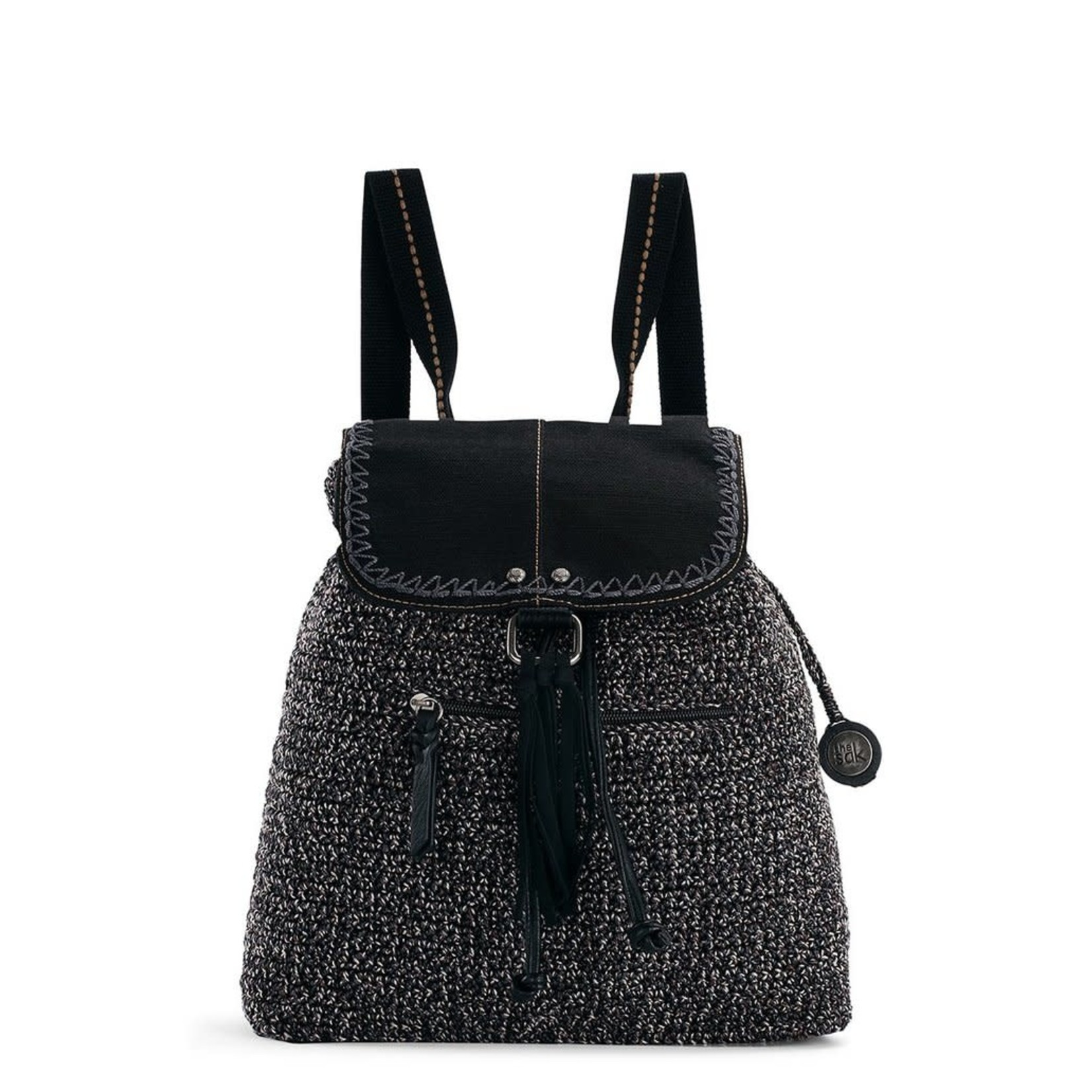 The Sak Avalon Crochet Convertible Backpack - Urban Static