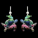 d'ears 2021 Coral Reef Honu Earrings