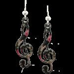 d'ears 2252 Treble Clef Earrings