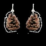 d'ears 2284 Pinecone Earrings