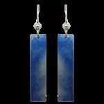 d'ears 2422 Blue Water Color Earrings