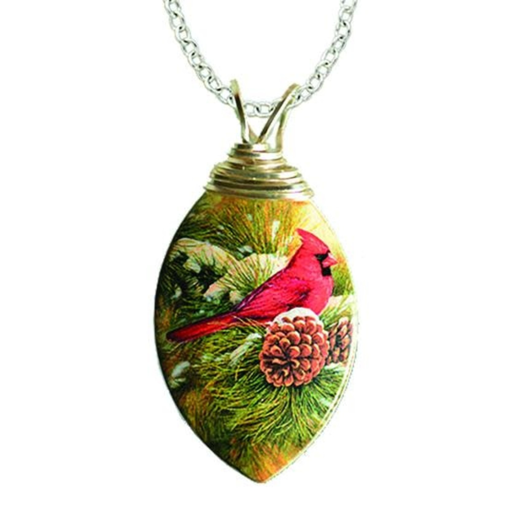 d'ears 4302X December Dawn, Rosemary Millette Necklace