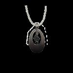 d'ears 4650X Treble Clef Necklace