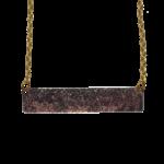 d'ears 4701X Antique Bronze Necklace