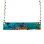 d'ears 4731X Turquoise Stone Necklace