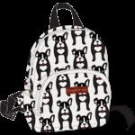 Bungalow 360 Kids Backpack - Black Dog