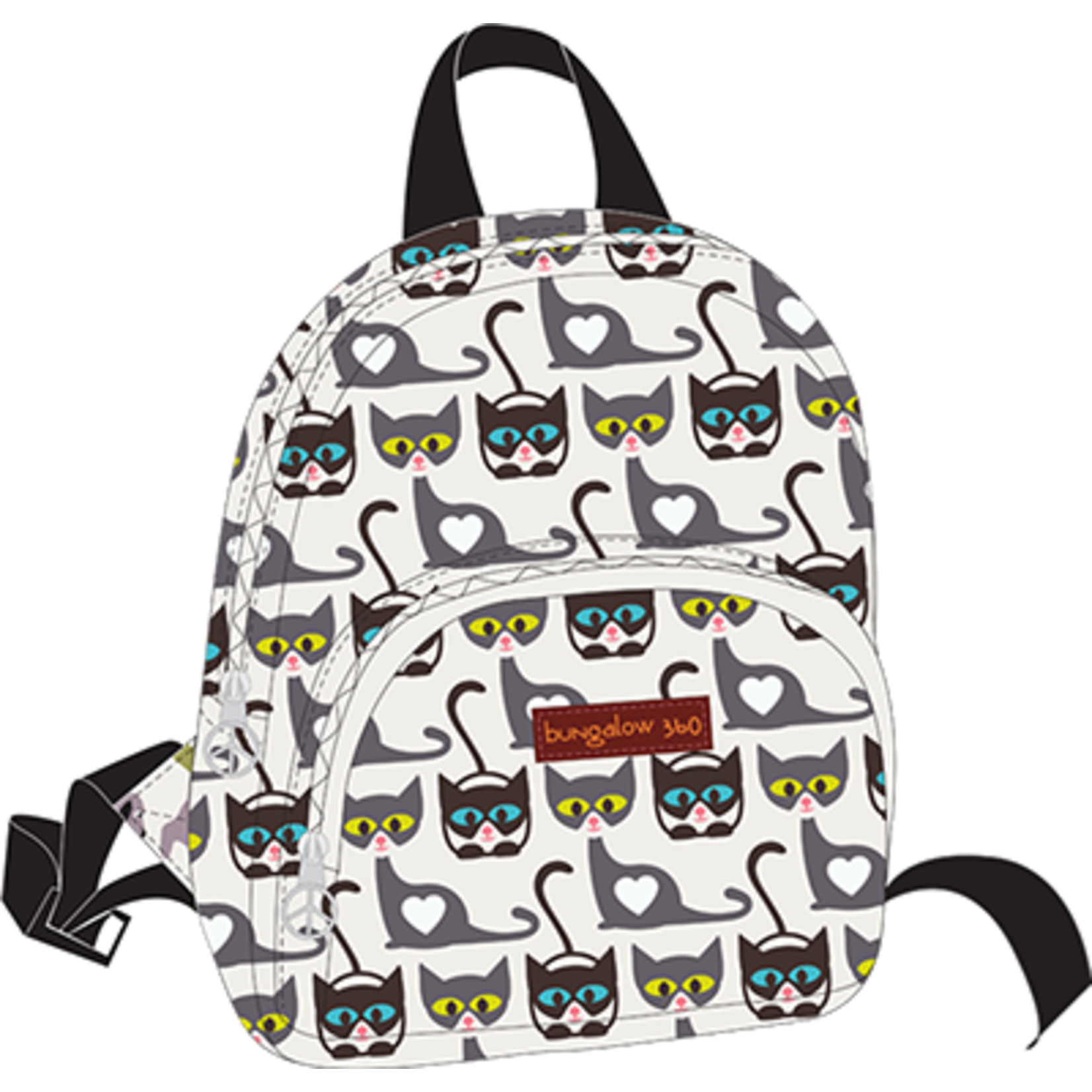 Bungalow 360 Kids Backpack - Cat