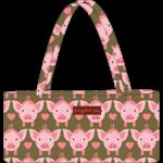 Bungalow 360 Mini Bag - Pig