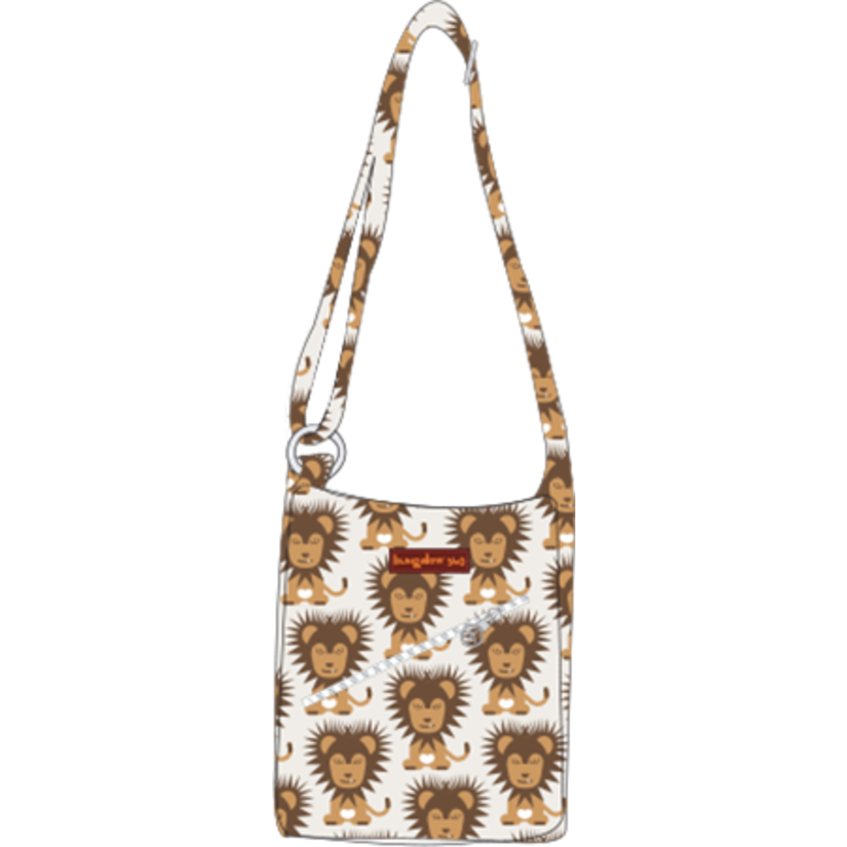 Bungalow 360 Small Messenger Bag - Lion