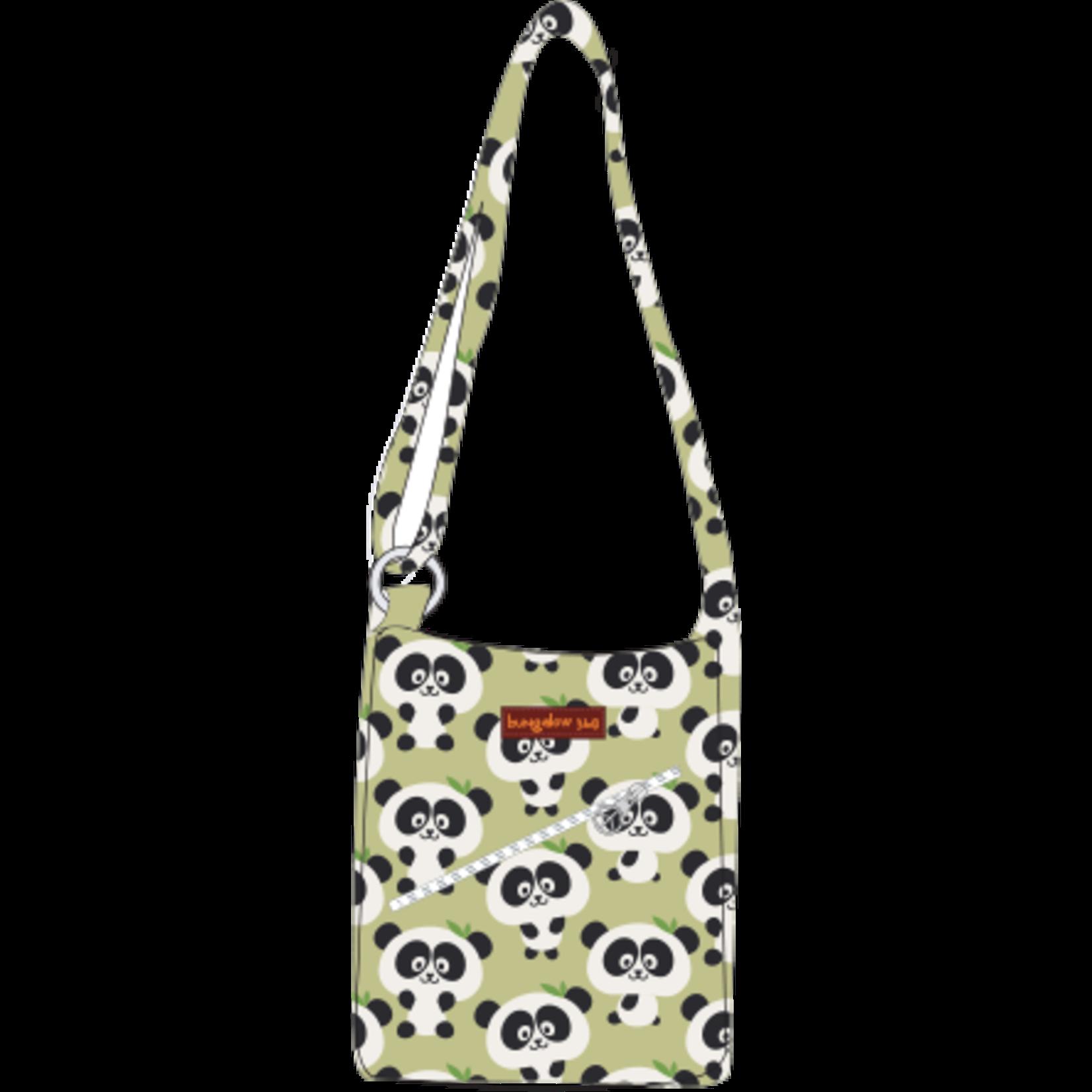 Bungalow 360 Small Messenger Bag - Panda